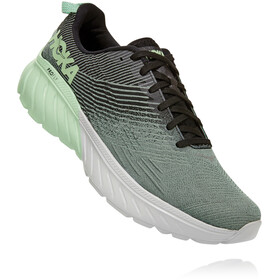 Hoka One One Mach 3 Shoes Men, green ash/black